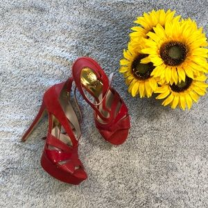 Michael Kors Ruby Red Stilettos